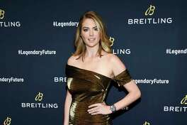 Model Kate Upton attends the Breitling Global Roadshow event at The Duggal Greenhouse on Thursday, Feb. 22, 2018, in New York. (Photo by Evan Agostini/Invision/AP)