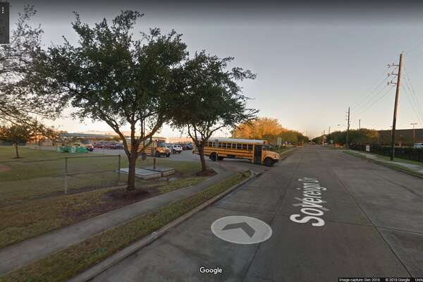 FILE - A screenshot of a Google Maps image of Collins Elementary School in Houston, Texas. Friday, Alief ISD officials reported a student brought a loaded gun to campus.