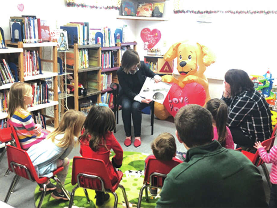 "State Rep. Katie Stuart, D-Edwardsville, visited the Maryville Community Library recently to read to children during storytime and participate in their arts and crafts session. ""As a lifelong educator, I understand the importance of introducing children to the joys of reading as early as possible,"" said Stuart. ""Now as state Representative, I am always looking for ways to work with the community to ensure all of our local students have the best opportunities possible. Participating in this event at the Maryville Library to help celebrate Library Lover's Month was just one of the ways that I can collaborate with educators, students and community leaders to help our kids succeed."" Stuart is hosting a number of local events during the ongoing spring legislative session. On Saturday, Feb. 10, Stuart is hosting Coffee with Katie at Conway's Catering in Maryville from 10 a.m. to 11 a.m. Photo: For The Intelligencer"