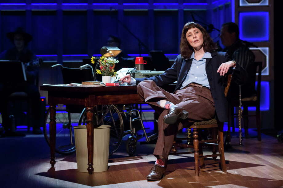 "Suzanne Vega as Carson McCullers in ""Lover, Beloved,"" at the Alley Theatre. Photo: Lynn Lane"