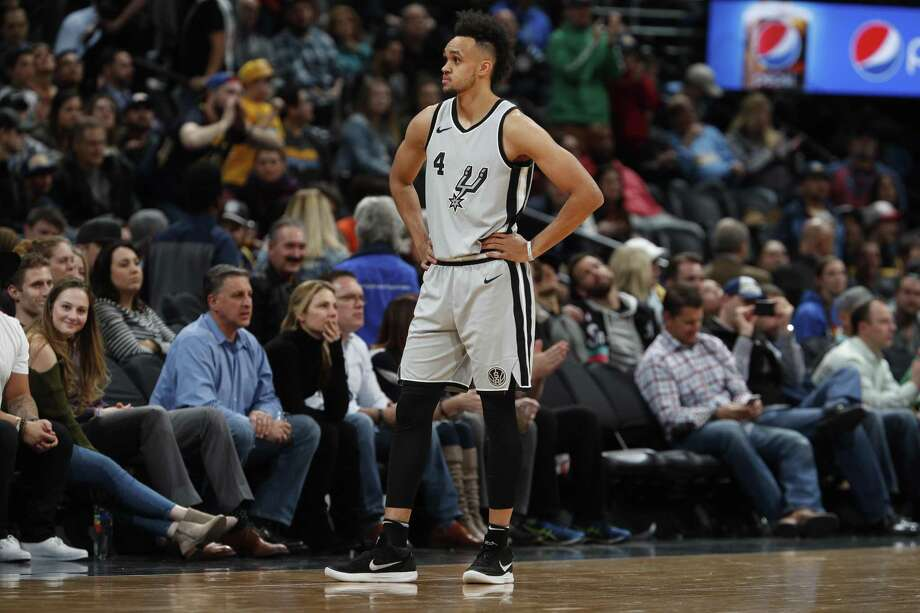 If losses mount, youngsters like Derrick White may play more. Photo: David Zalubowski /Associated Press / Copyright 2018 The Associated Press. All rights reserved.