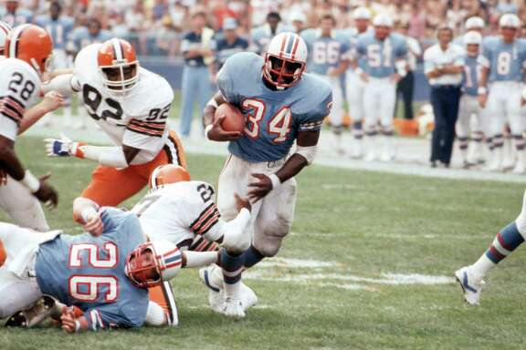 A trade with Tampa Bay to get the No. 1 pick in the 1978 draft brought Earl Campbell to Houston.