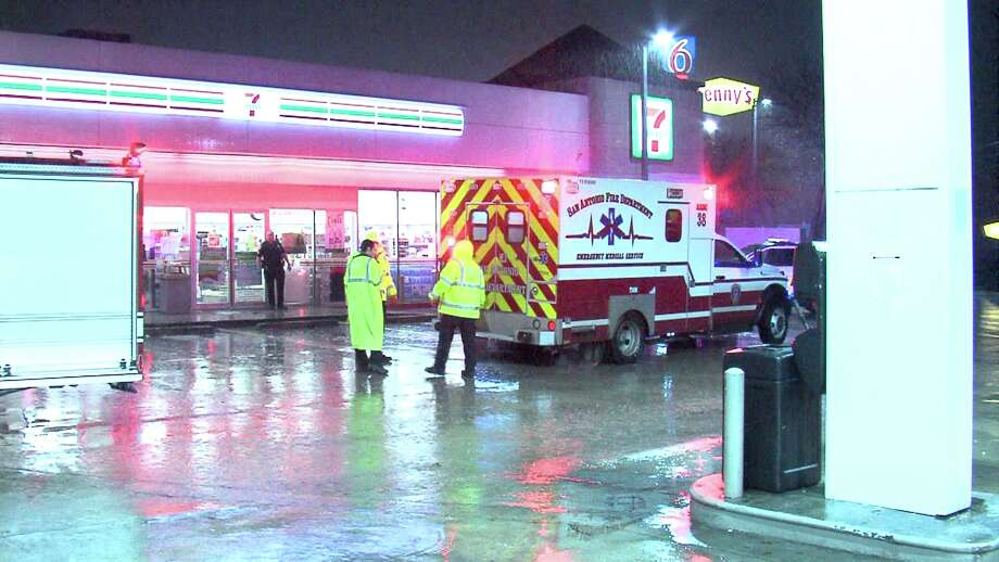 The victim left the Denny's in the 6100 block of Interstate 35 North around 3:45 a.m. and walked to his car. But on the way, he got into a fight with two other men and was shot. Photo: Ken Branca
