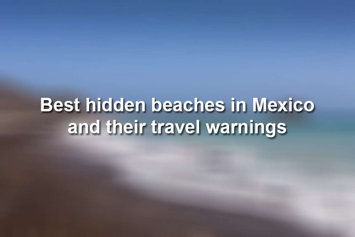 Entertainment and travel website Thrillist recently published their list of best hidden beaches in Mexico, but they all come with travel warnings.