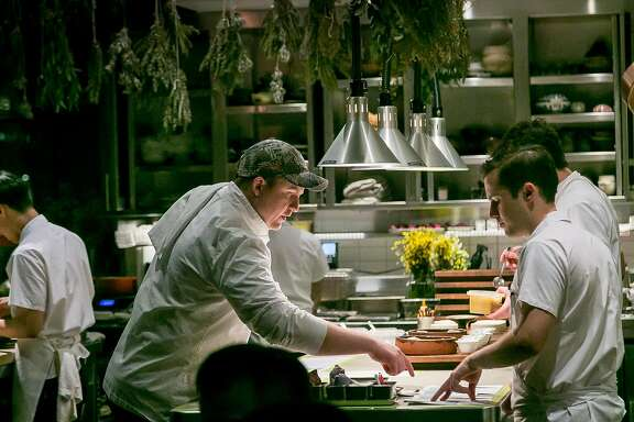 Chef Joshua Skenes of Saison in San Francisco, Calif., is seen on February 16th, 2018.