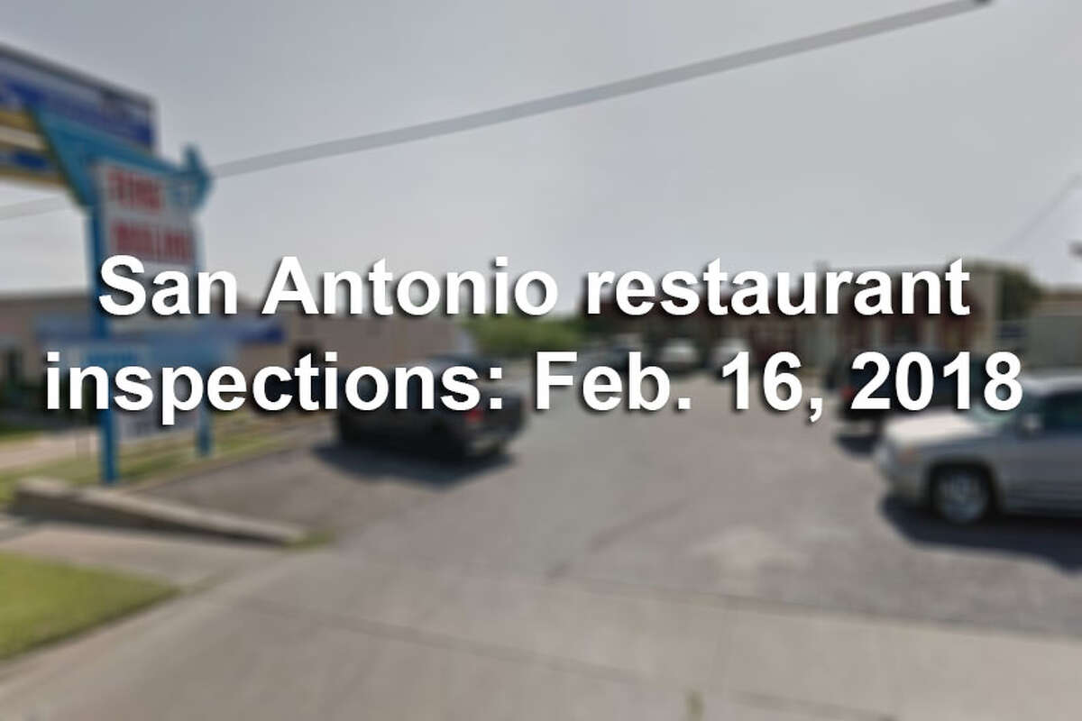 Click ahead to see which San Antonio restaurants were among the dirtiest in the city between Feb. 8- 15, 2018, according to city health inspection reports.