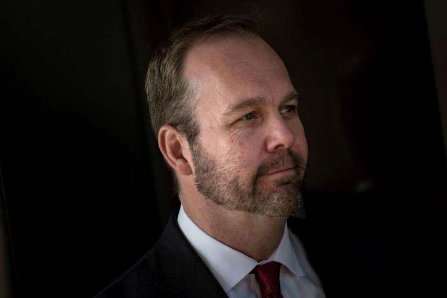 Former campaign aide Rick Gates. Photo: BRENDAN SMIALOWSKI /AFP /Getty Images / AFP or licensors
