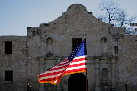 The Alamo is a towering symbol, but the city seems to feel almost ambivalent about it.