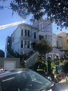 The site of a fire Friday morning in San Francisco's Castro District has been called a notorious drug house by city officials.
