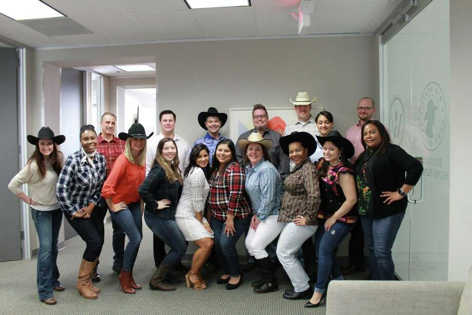 Houstonians show off their Go Texan Day spirit as RodeoHouston seasons kicks off. Photo: Courtesy Of Big State Home Buyers