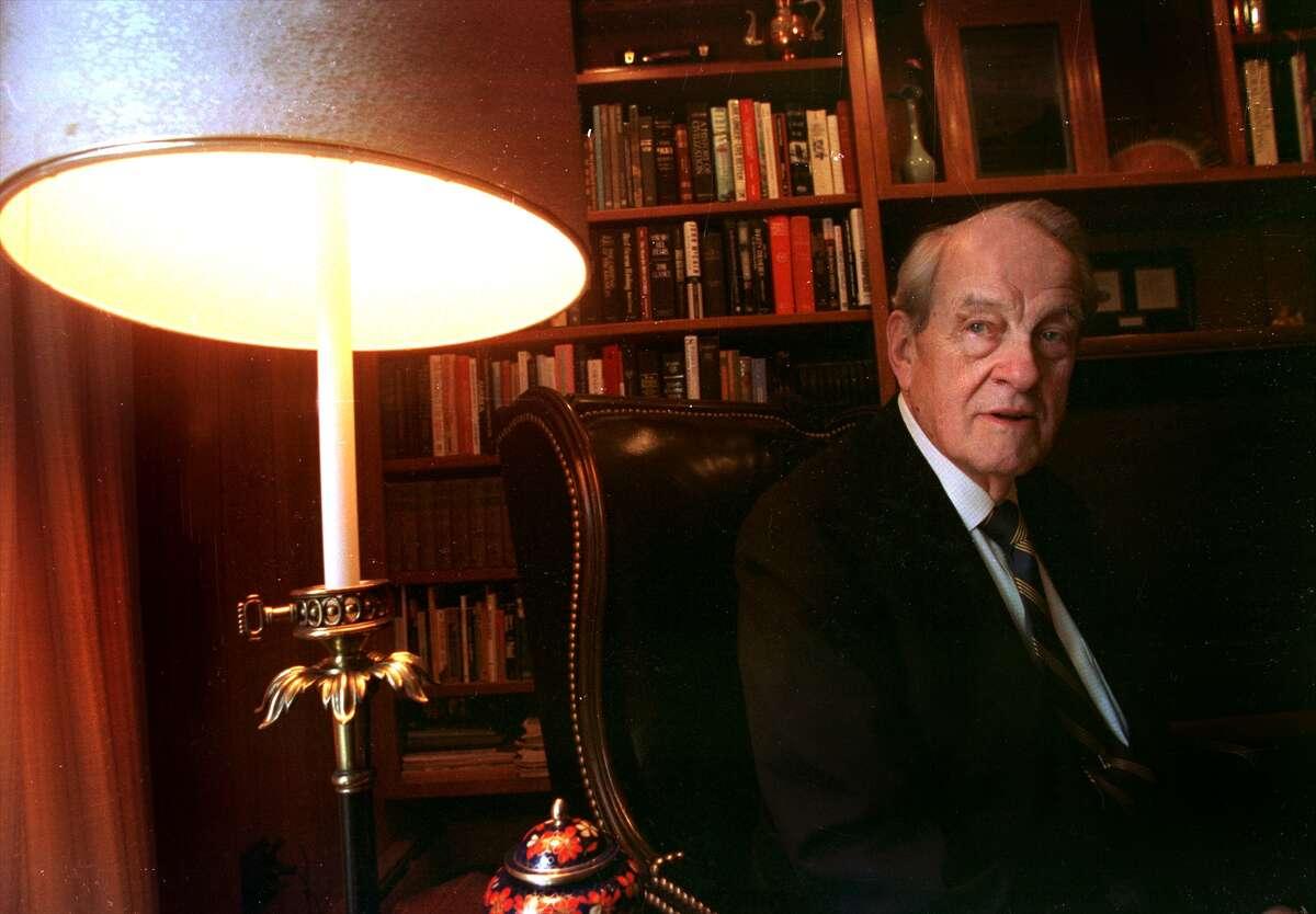 Warren Bruggeman, an 'angel' investor sits in his home on Friday, March 31. 2000, in Niskayuna, N.Y. (Steve Jacobs/Times Union)