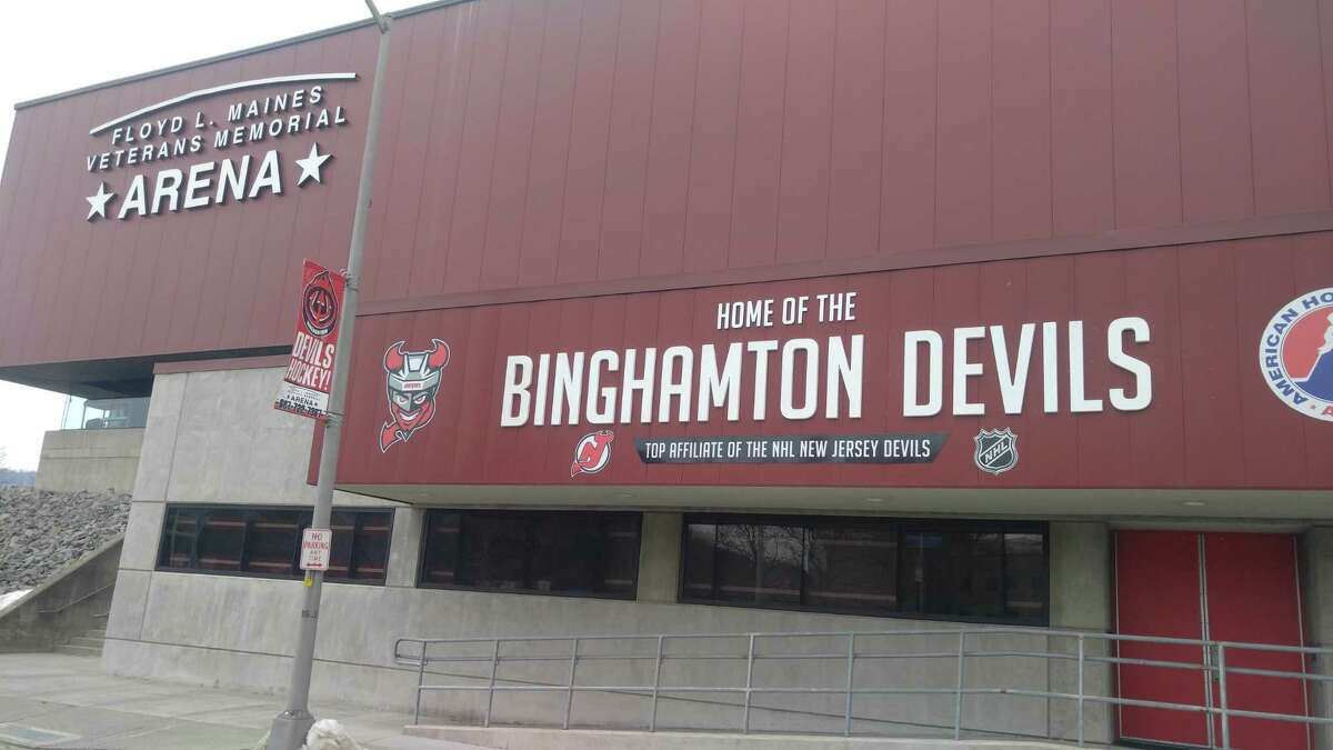 The former Albany Devils have moved to Binghamton.