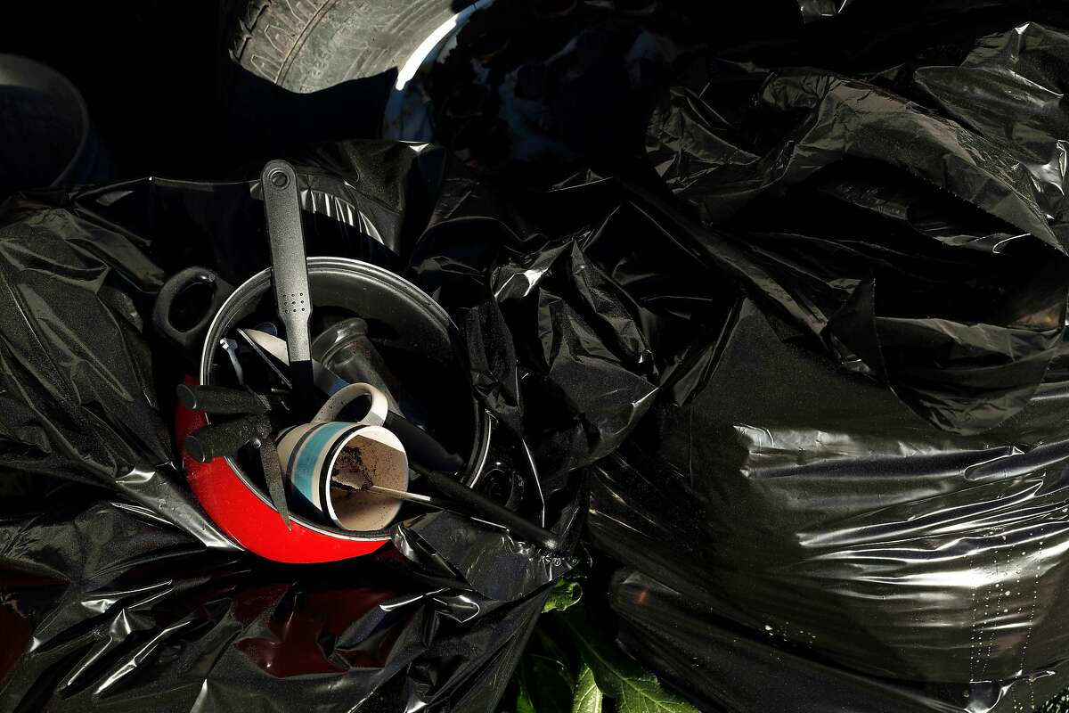Don't bag your recyclables in plastic. According to Gaisford, bags can make it harder to sort recycling correctly. It's better to be loose in the bin.