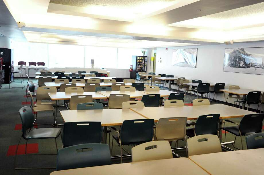 FILE — The cafeteria inside Government Center in Stamford. Photo: Hearst Connecticut Media File Photo / Stamford Advocate