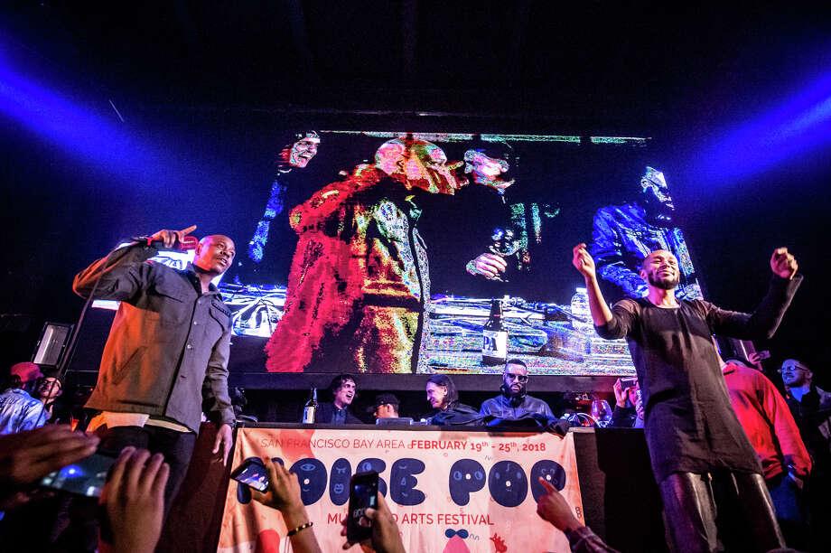 Dave Chappelle, Yasiin Bey surprise Madlib's Noise Pop crowd