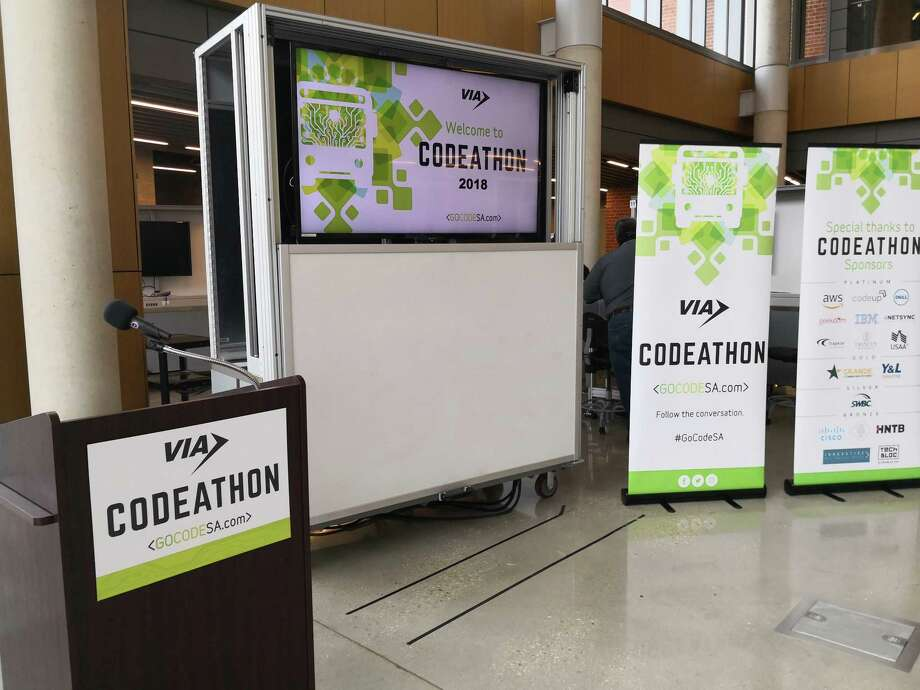 The codeathon gives VIA a chance to support the community, and show it's interested in looking at technology that could help it better serve its customers, said Steve Young, vice president for information technology at VIA Metropolitan Transit. Photo: Courtesy Photo