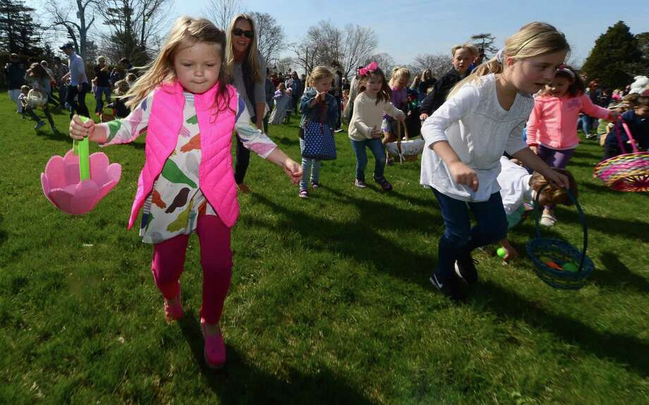 The Rowayton Civic Association will hold its annual Easter Egg Hunt on Saturday, March 31. Residents are invited to hop on over to the Rowayton Community Center, rain or shine, to meet the Easter Bunny and participate in RCA's annual Easter Egg Hunt. Photo: Erik Trautmann / Hearst Connecticut Media / Norwalk Hour