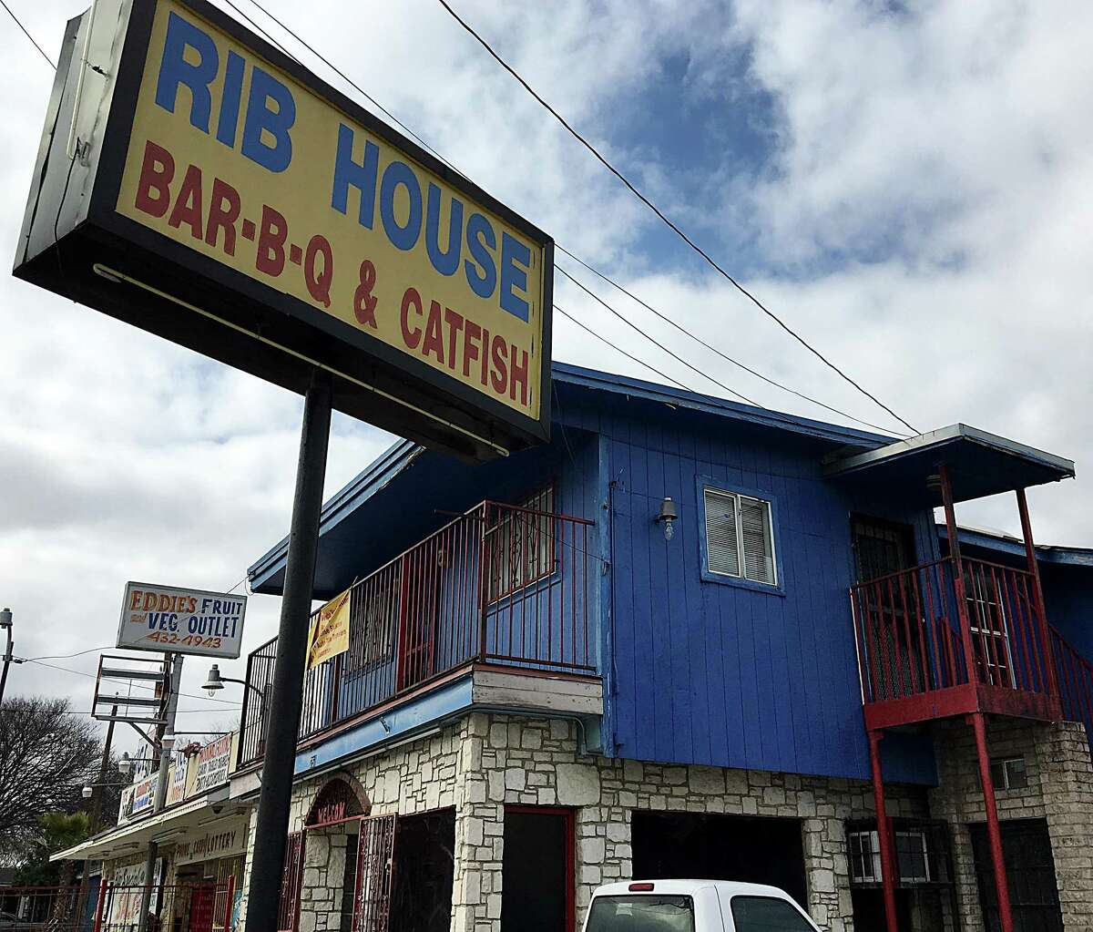 The Rib House barbecue and soul-food restaurant on Enrique M. Barrera Parkway.