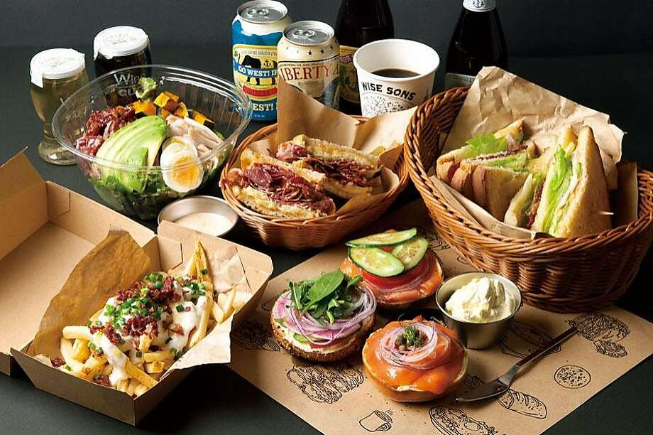 Wise Sons in Tokyo will have a number of dishes including a bento box with a bagel sandwich and salad. Photo: Wise Sons