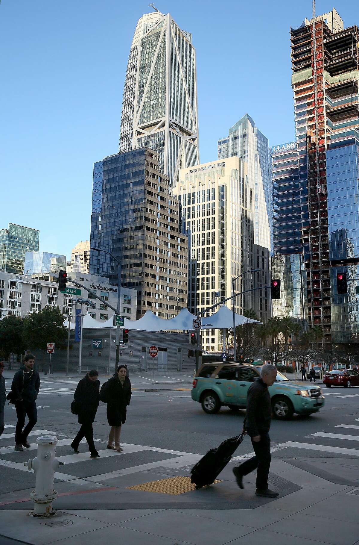 181 Fremont Street (tallest) on Monday, February 20, 2018, in San Francisco, Ca.