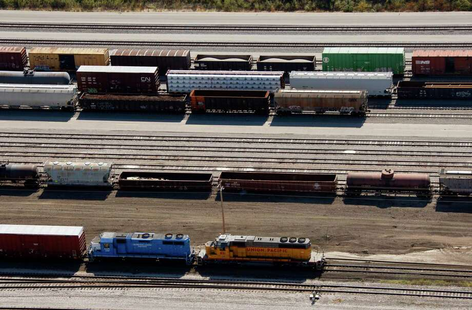 The Union Pacific Railroad yard in Fort Worth in 2007. There are more miles of track in Texas than anywhere else in the country. Keeping them safe requires collaboration from the industry and first responders. Photo: Ralph Lauer /MCT / Fort Worth Star-Telegram