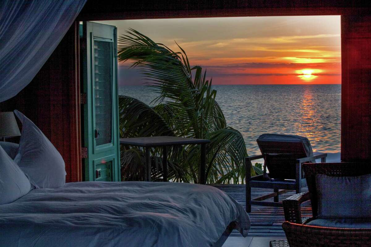 Cayo Espanto, a 4-acre, private island near Ambergris Cay, has butler serviced villas with heated plunge pools. All-inclusive pricing means you never have to worry about meals and activities.