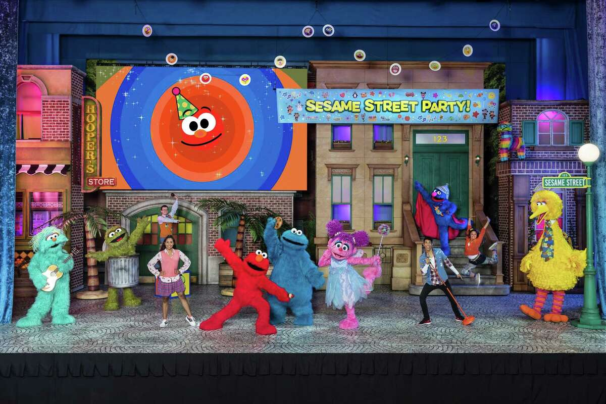 """""""Sesame Street Live! Lets Party!"""" will be presented at the Toyota Oakdale Theatre in Wallingford on Saturday and Sunday. Find out more."""