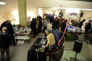 WPKN's Music Mash '18, produced by nonprofit radio station WPKN 89.5-FM, will be held in Read's Art Space apartments in Bridgeport, Conn., on Saturday Mar. 3, 2018. Here's a scene from last year's event.