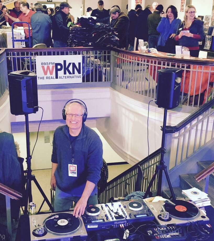 DJ Al Bell will be on hand Saturday, March 3, for the WPKN-Radio record fair in downtown Bridgeport. Photo: WPKN-Radio / Contributed Photo