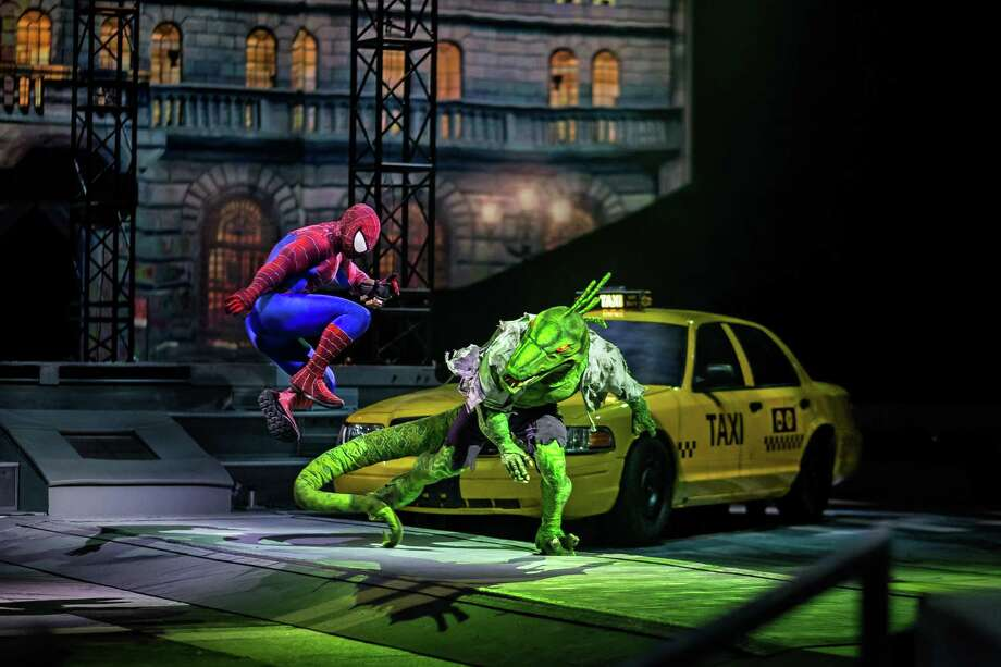 Marvel Universe Live! comes to the Webster Bank Arena in Bridgeport, March 1-4. Photo: Marvel / Contributed Photo / Connecticut Post Contributed