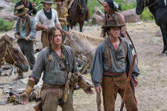 "TV's ""Texas Rising"" actors -- Brendan Fraser and Bill Paxton star in this 10-hour History Channel series, which is based on the Texas Revolution against Mexico and how the Texas Rangers were created."