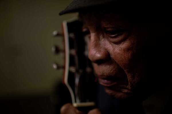 Milton Hopkins, 84, is one of Houston's last living links to the city's regal blues history. He played with B.B. King and backed Little Richard, Sam Cooke and many other legendary blues greats.