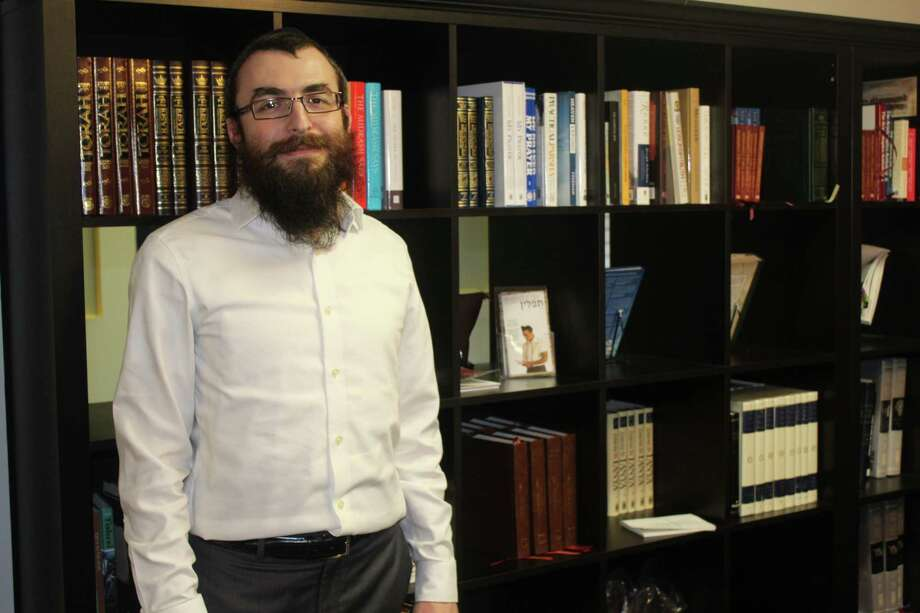 Rabbi Mendel Blecher and his wife, Leah, founded Chabad of The Woodlands, which is the 21st Chabad center in Texas under the umbrella of Texas Friends of Chabad Lubavitch. Photo: Staff Photo By Patricia Dillon