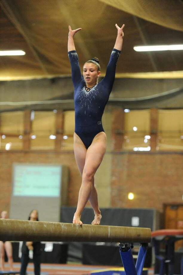 Foran's Brianna Laggis is happy to still be involved with gymnastics after her career was derailed by injuries including a back fracture. Photo: Contributed Photo