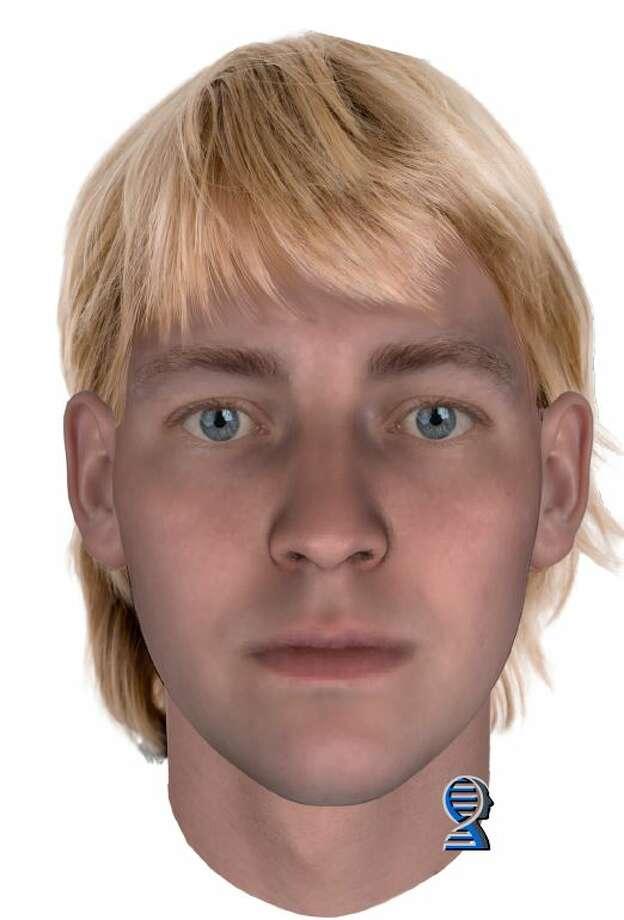 The DNA phenotyping company, Parabon NanoLabs, produced this image of  what Sarah Yarborough's killer might have looked like at age 18. It's  unclear what age the perpetrator was at the time of Yarborough's death. Photo: Courtesy King County Sheriff's Office