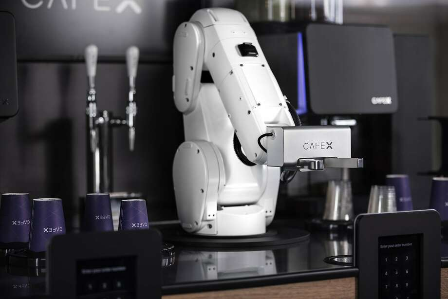 Cafe X, the robot-operated coffee kiosk, had closed its three downtown San Francisco locations. Photo: Cafe X
