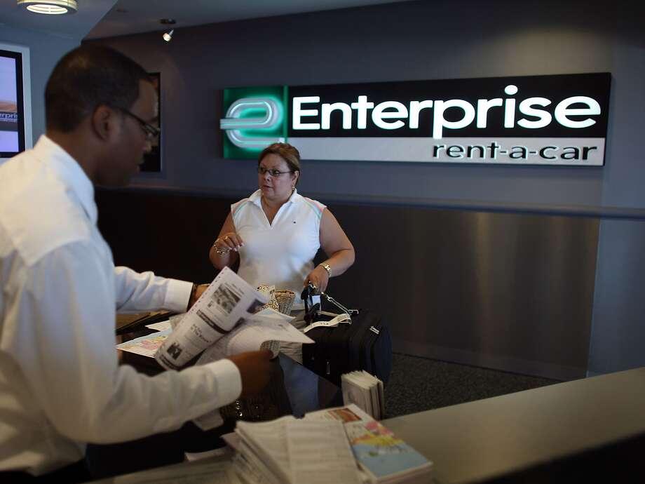 Enterprise Rent-a-Car. Photo: Joe Raedle/Getty Images