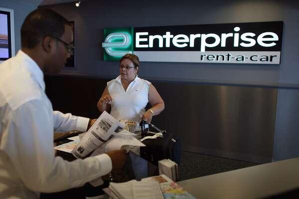 Enterprise Rent-a-Car.