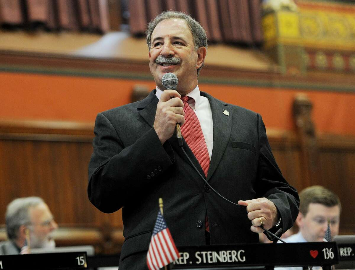 State Rep. Jonathan Steinberg, D-Westport, as pushed legislation banning the transport of fracking waste through the state.