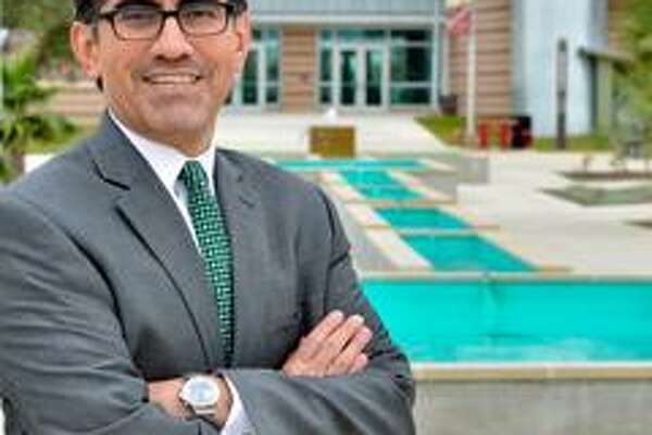 Mike Flores is president of Palo Alto College and the finalist for chancellor of the Alamo Colleges.