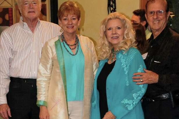 """The co-chairs of this year's Bach, Beethoven & Barbecue gala, from left, are Alan """"Barb"""" and Mimi Sadler and Garlaine and Emmett Kelly."""
