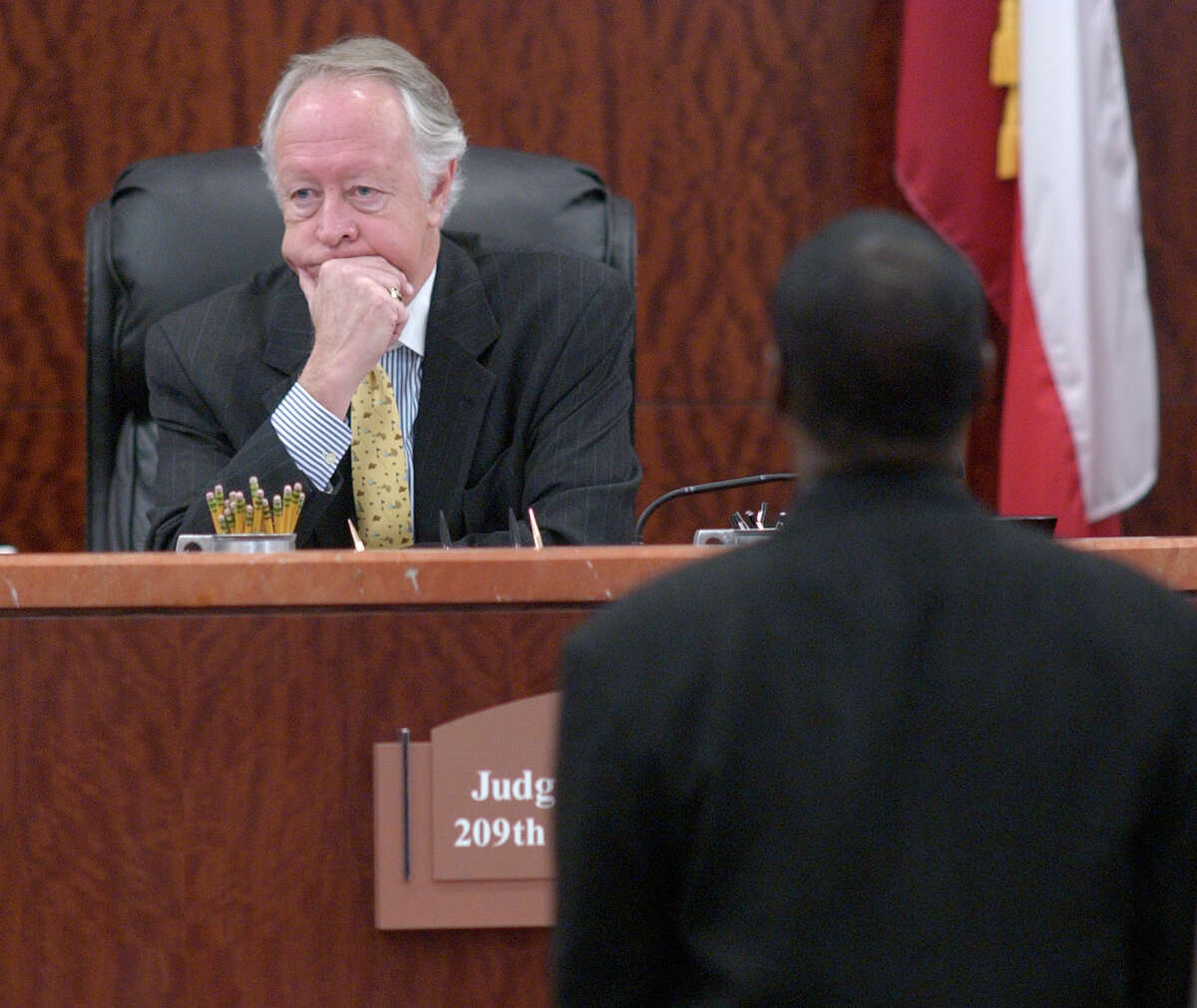 District Criminal Court of Judge Michael McSpadden in 2004 at the Harris County Criminal Justice Center in Houston