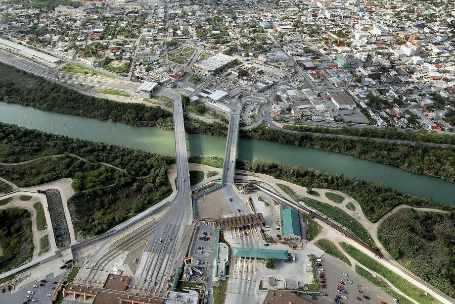 McAllen is Texas' fattest city, according to WalletHub. Above, the Rio Grande flows under the McAllen-Hidalgo-Reynosa International Bridge.  Scroll through to see food chains with the most calories Photo: John Moore/Getty Images