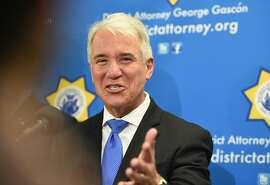 San Francisco District Attorney George Gasc—n answers questions during a press conference detailing a new policy which vacates 3000 marijuana-related misdemeanor convictions and 8,000 marijuana-related felony convictions in San Francisco on January 31, 2018.