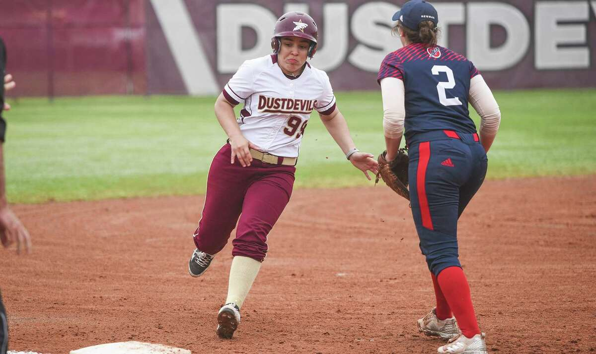 TAMIU had five players honored by the Heartland Conference including third baseman Maya Paul as freshman of the year.