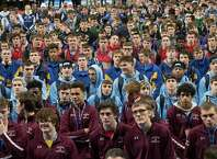 493 competitors have arrived for the New York State High School Wrestling Championships at the Times Union Center Friday Feb. 23, 2018 in Albany, N.Y.   (Skip Dickstein/Times Union)