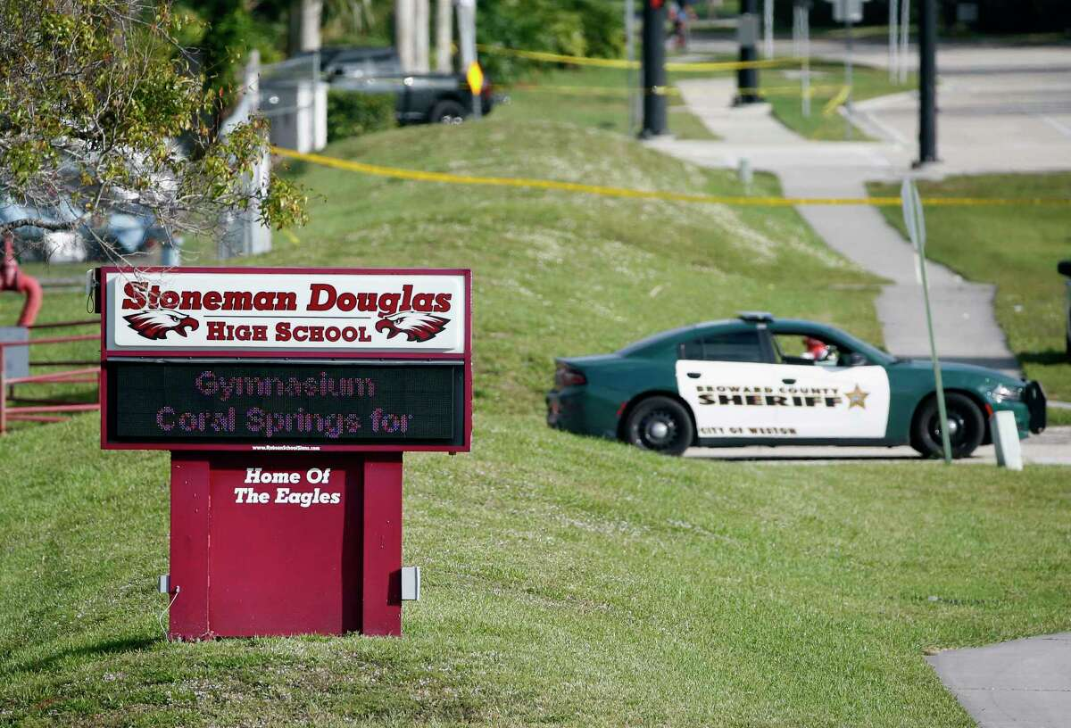 SEPTEMBER 2018: Parkland, Fla. False fire alarms at Marjory Stoneman Douglas High School triggered memories of the mass shooting that killed 17 on Valentine's Day, 2018.