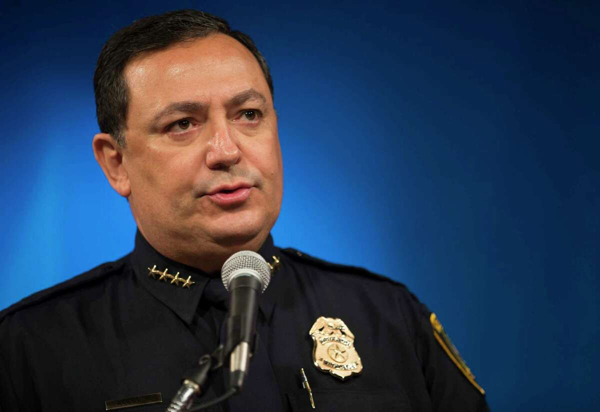 Houston Police Department Chief Art Acevedo and most other metropolitan police chiefs in the state have opposed SB4, saying it would hamper community relations. ( Mark Mulligan / Houston Chronicle )