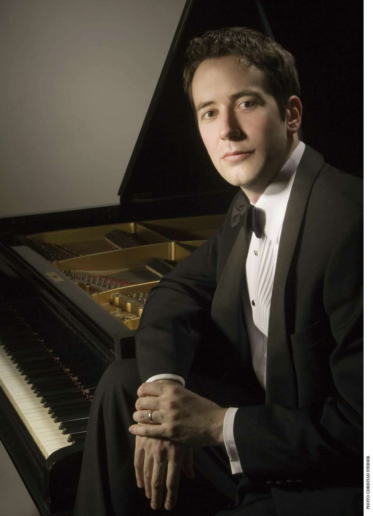 Classical piano player Philip Edward Fisher played the Beethoven's Piano Concerto No. 1.