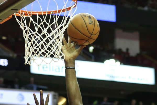 Clint Capela towers above the Timberwolves for two of his 25 points as the Rockets gradually pulled away for their 11th consecutive win Friday night.